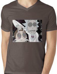 Rick & Morty Mens V-Neck T-Shirt