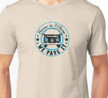 VW Where we park it Unisex T-Shirt