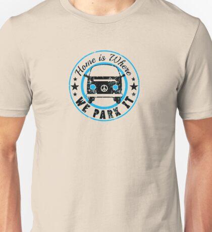 VW Where we park it Unisex T-Shirt