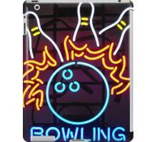 Neon Sign - Bowling iPad Case/Skin