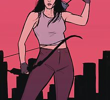Kate Bishop by Kay Allan