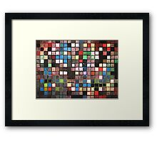 Mirror of Justice Framed Print