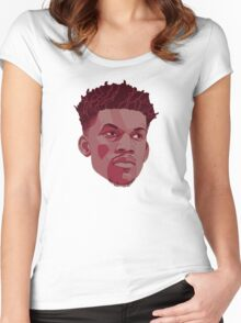 Jimmy Butler Women's Fitted Scoop T-Shirt