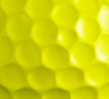Golf Ball - Yellow by Clickcreations