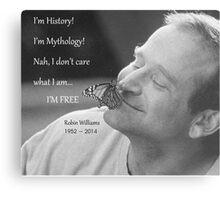 Robin Williams, quote from Aladdin Metal Print