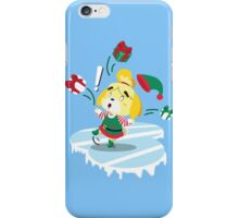 Isabelle on ice iPhone Case/Skin