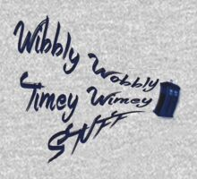 Timey Wimey Stuff One Piece - Long Sleeve