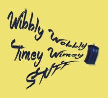 Timey Wimey Stuff Kids Tee