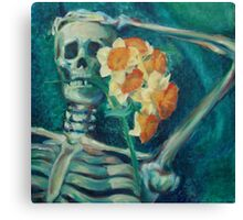 Courting Spring Canvas Print
