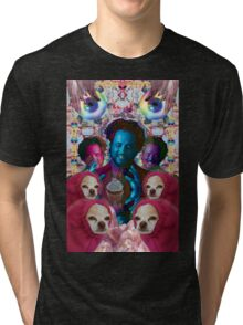 giorgio tsoukalos and his worm doggos Tri-blend T-Shirt