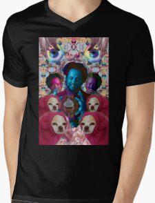giorgio tsoukalos and his worm doggos Mens V-Neck T-Shirt