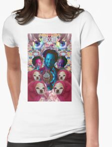 giorgio tsoukalos and his worm doggos Womens Fitted T-Shirt