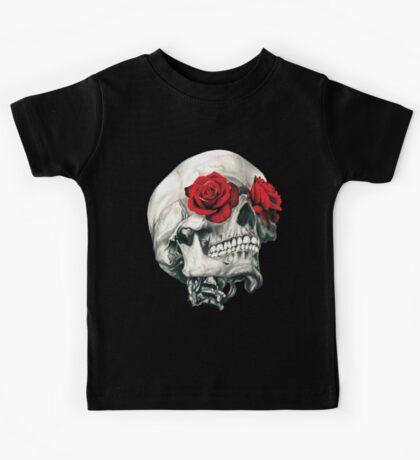 Rose Eye Skull Kids Tee
