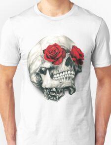 Rose Eye Skull T-Shirt