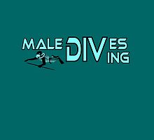 Maledives diving, colours cyan and black by aapshop