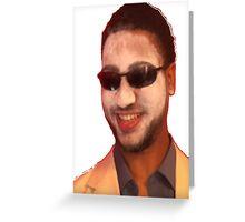 do I look like tom cruise? Greeting Card