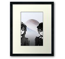 Jonas and Poet  Framed Print