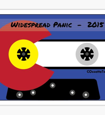 Widespread Panic Red Rocks 2015 Sticker