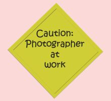 Caution: Photographer at work One Piece - Short Sleeve