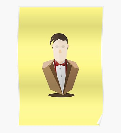 Eleventh Doctor - Yellow Poster