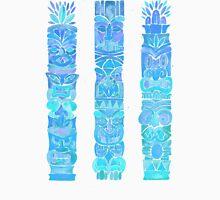 Tiki Totems – Turquoise Palette Unisex T-Shirt