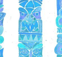 Tiki Totems – Turquoise Palette Sticker