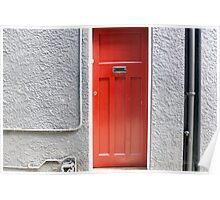 What lies behind the Red door? Poster
