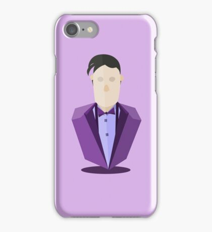 Eleventh Doctor - Purple iPhone Case/Skin