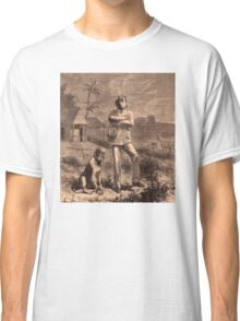 Man and his dog Classic T-Shirt