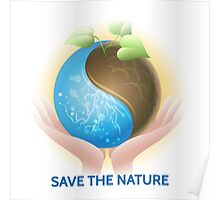 Save the Nature Theme Poster