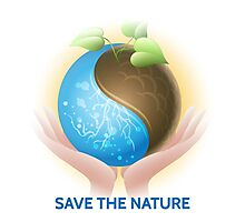 Save the Nature Theme Photographic Print