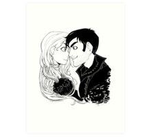 Cute Captain Swan Art Print