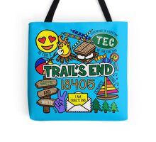 Trail's End Camp Tote Bag