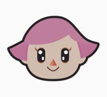 Villager Female Animal Crossing Kids Tee