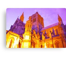 Norwich Cathedral, England Canvas Print