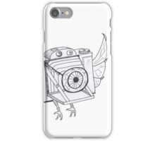 When Cameras Fly - (Hand drawn) iPhone Case/Skin