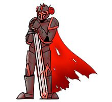 Red Knight Photographic Print