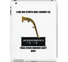 I like big struts and I cannot lie iPad Case/Skin