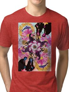 alien hunters from the flower planet Tri-blend T-Shirt