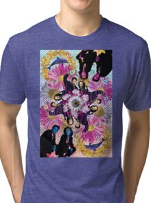 alien hunters from the flower planet Tri-blend T-Shirt