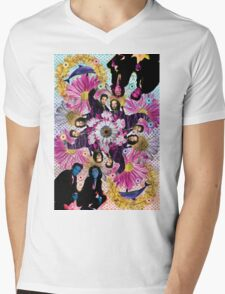 alien hunters from the flower planet Mens V-Neck T-Shirt