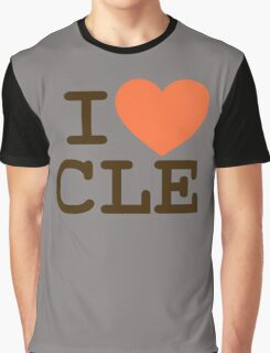 I HEART CLE - CLEVELAND Graphic T-Shirt