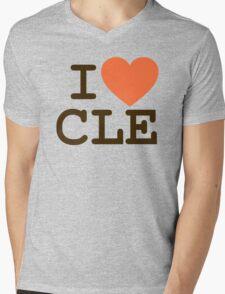 I HEART CLE - CLEVELAND Mens V-Neck T-Shirt