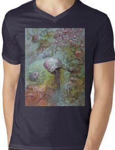 Drag Knot Mens V-Neck T-Shirt