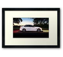 F80 BMW M3 Framed Print
