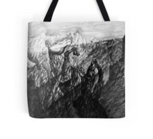 Will to live. Born as stone will see the sun. Tote Bag