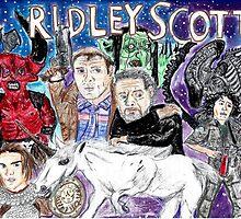 Ridley Scott by Arthur Pena