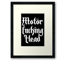 Motörhead Framed Print