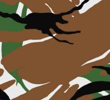 Camouflage_nature Sticker