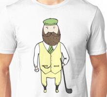 Gentleman in golf club Unisex T-Shirt
